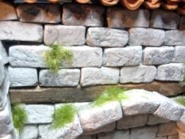 250 rechteckige Ruinen-Bausteine für Krippenbau und andere -