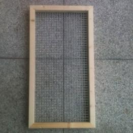 Abdeckung 60 x 30 cm für Nagerterrarium -