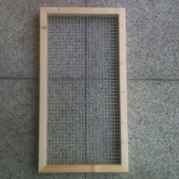 Abdeckung 80 x 35 cm für Nagerterrarium -