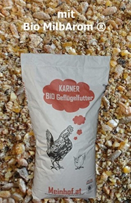 Bio Legehennenfutter gegen Milben mit MilbArom®ÖVO im 30 kg Sack -