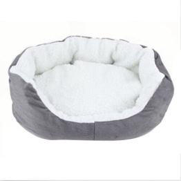 Faltbare Hundebett Katzenbett Warme Tierbett Haustierkörbchen Hunde Sofa Waschbar Fleece -