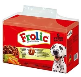 Frolic Complete Hundefutter Rind, Karotten und Getreide, 1 Packung (1 x 7,5 kg) -