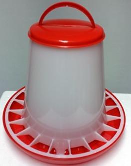 Futterspender für Geflügel 3 KG NEU: ANTIBAKTERIELL -