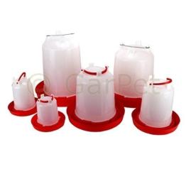 Geflügeltränke automatisch Hühnertränke Stülptränke Hühner Tränke zum Aufhängen oder Hinstellen (Gr.1) -