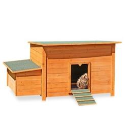 Hühnerstall Hühner Käfig Legenest aus Holz ca. 149 x 80 x 79 (BxHxT) -