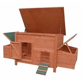 Hühnerstall / Hühnerhaus inkl. 2 Nestboxen ca. 179 x 80 x 75 -