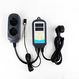 Inkbird 2-IN-1 Hygrostat Steckdose Temperaturregler & Feuchtigkeitsregler Luftbefeuchter Thermostat Temperature Feuchtigkeit Controller mit Sensor -