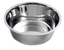 Kerbl 83415 Edelstahl Hundenapf ca. 2800 ml -