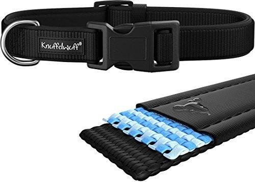 Knuffelwuff 13948 009 hundehalsband halsband hund neopren for Teichfische schwarz