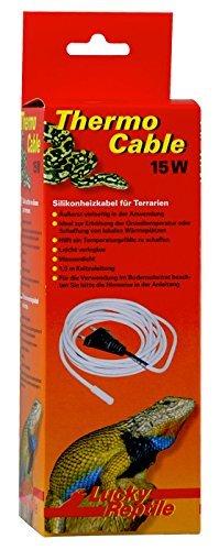 Lucky Reptile HTC-15 Thermo Cable 15 W, 3.8 m, Heizkabel für Terrarien -