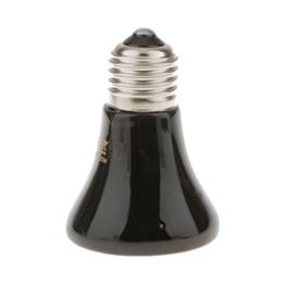 MagiDeal 220V-240V E27 Infrarot Keramik Heizung Wärme Glühbirne Lampe Für Reptil Haustier - 50w -