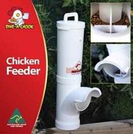 NEU Hühner Futterautomat DINE A CHOOK -
