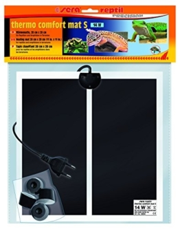 sera 32004 reptil thermo comfort mat S / 14 W eine Wärmeheizmatten für Reptilien, Amphibien und Wirbellose in Terrarien -