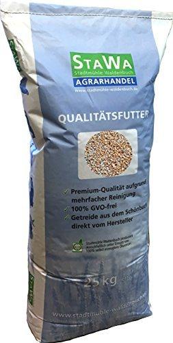 StaWa Weizen, Geflügelfutter, Hühnerfutter, !!Mühlenqualität!! 25 kg GVO - frei -