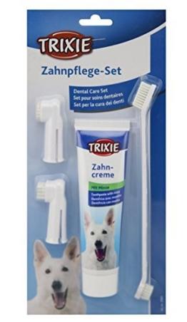 Trixie 2561 Zahnpflege-Set, Hund -