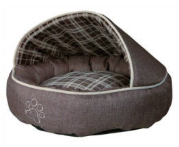 Trixie 37536 Hundebett Timber, o 55 cm, braun -