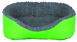 Trixie 62703 Kleintierkuschelbett, 35 × 28 cm, grün/grau -