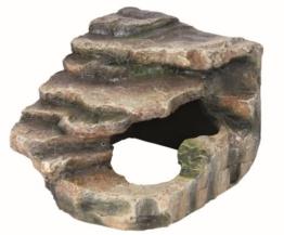 Trixie 76194 Eck-Felsen mit Höhle und Plattform, 16 × 12 × 15 cm -