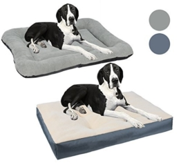 WOLTU® Hundebett Hundematte Hundematratze Hundekissen Katzen Schlafplatz Grau HT2063gr2-c -