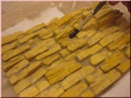 Wüstenfelsen Bausteine Ocker, 2 Tüten je 25 Bausteine -