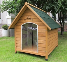 XL Sussex Hundehütte Aus Holz Mit Entfernbarem Boden Zur Einfachen Reinigung B -