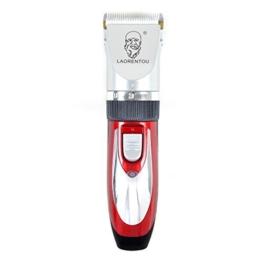 Akku Profi Haarschneider Molde - Haarschneidermaschine mit verschiedenen Aufsätzen - mit leisem aber starkem Motor, Netz und Akkubetrieb - für den professionellen Friseur-Bedarf geeignet -