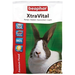 Beaphar XtraVital Kaninchen Futter, 1er Pack (1 x 2.5 kg) -