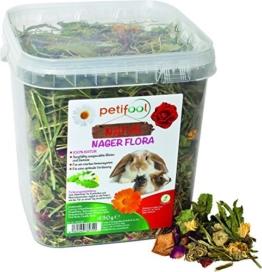 """dobar petifool Alleinfutter """"Nager Flora"""", natürliches und gesundes Kaninchenfutter, 430g, 2er Pack (2 x 430 g) -"""