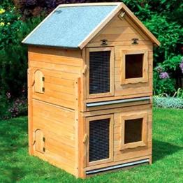 Erweiterung für Kleintiervilla MAXI 91x70x56 cm Stall Kaninchenstall -