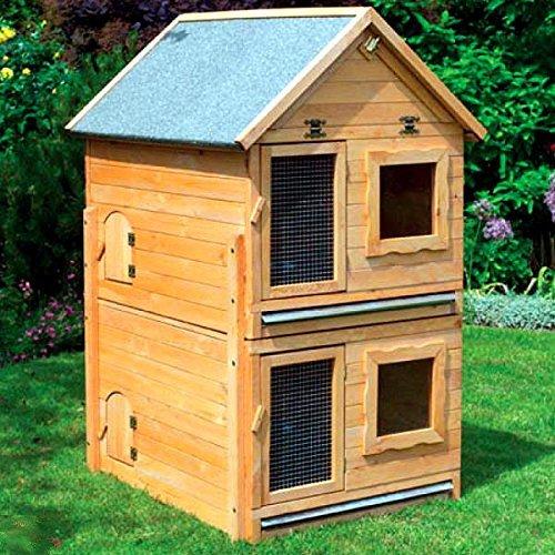 erweiterung f r kleintiervilla maxi 91x70x56 cm stall kaninchenstall haustierzubeh. Black Bedroom Furniture Sets. Home Design Ideas