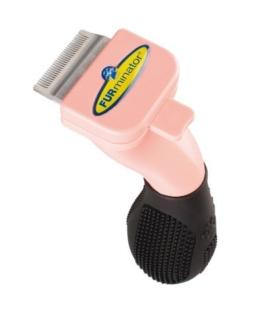 FURminator Fellpflege Fellpflege deShedding-Pflegewerkzeug (für Kleintiere wie Kaninchen oder Frettchen, reduziert das Haaren und verringert Haarballen), 1 stück -
