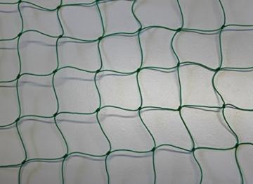 Geflügelnetz Geflügelzaun Weidezaun – grün – Masche 5 cm – Stärke: 1,2 mm – Höhe: 1,00 m Meterware -