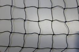 Geflügelnetz Geflügelzaun Weidezaun - schwarz - Masche 5 cm - Stärke: 1,2 mm - Höhe: 1,00 m Meterware -