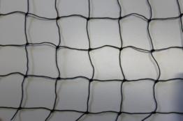 Geflügelzaun Geflügelnetz - schwarz - Masche 5 cm - Stärke: 1,2 mm - Größe: 1,20 m x 25 m -
