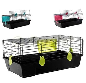 kaninchenk fig hasenk fig meerschweinchen hasen kaninchen k fig stall 100 haustierzubeh. Black Bedroom Furniture Sets. Home Design Ideas