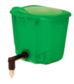 Kerbl 74206 Kaninchentränke 500 ml Kunststoff, grün -