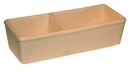 Kerbl 82785 Keramiknapf fÃ1/4r Nager, doppelt 350ml + 450ml -