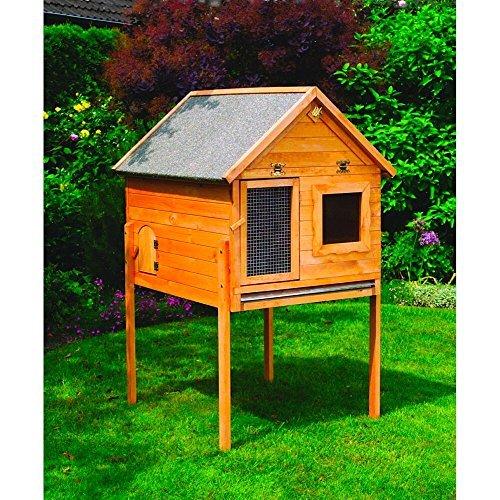 kleintiervilla maxi einzeln oder mit auslauf nagerstall hasenstall ausf hrung mit 2. Black Bedroom Furniture Sets. Home Design Ideas