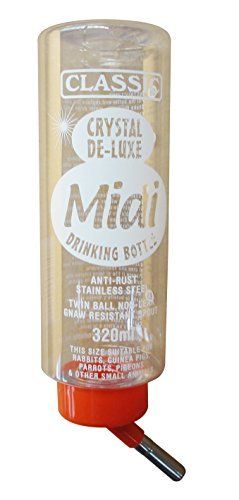 MIDI Kleintiertränke, Trinkflasche Kunststoff 320 ml, Tränke Tiertränke -