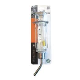 MPets 40500100 Kleintiertränke aus Glas, 350 ml -