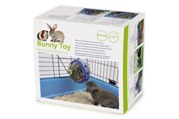 Nobby 25362 Bunny Toy Ø 16 cm, blau-schwarz -