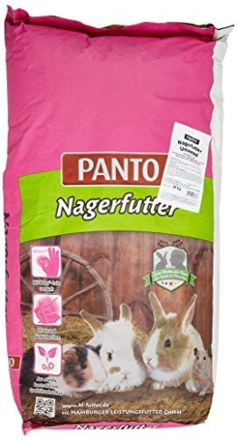 Panto Nagerfutter Universal mit Wisan-Lein, 1er Pack (1 x 25 kg) -