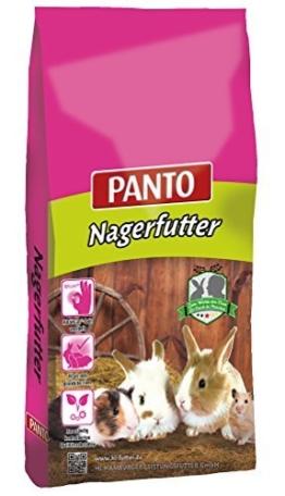 Panto Zwergkaninchenfutter mit Wisan-Lein, 1er Pack (1 x 25 kg) -
