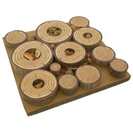 Rosewood Maze-a-Log Intelligenzspielzeug für Kaninchen / Meerschweinchen mit Leckerli-Versteck -