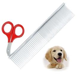 Tierpflege Set Hund Kamm Hautpflege Katze Nagel Schere Edelstahl Licht Pinsel kleine Hund Nagel Schere -