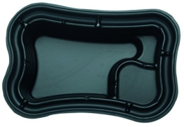 Oase Teichschale PE, Schwarz, 750 Liter -