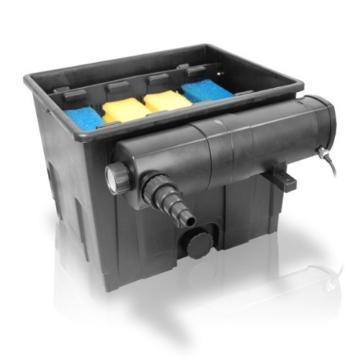 SET Berlan Teichfilter 12.000 Liter + Wasserklärer 18 Watt -