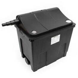 SunSun Biofilter CBF-200A Filteranlage 1 Kammer-System für 6000 L/h inkl Filtermaterial -