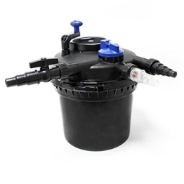 SunSun CPF-5000 Druckteichfilter UVC 11 W 9000 L/h Teich Filter Teichfilter -