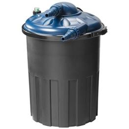 Teichfilter, Druckfilter 4000 Liter - Auswahl aus 4000 / 8000 und 12000 Liter für Teiche und Becken bis 12000 Liter (modellabhängig) -